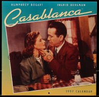 5g0128 CASABLANCA calendar 1996 each month has a different scene from the classic movie!