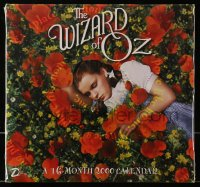 5g0137 WIZARD OF OZ Day Dream calendar 2000 each month has a different scene from this classic movie!