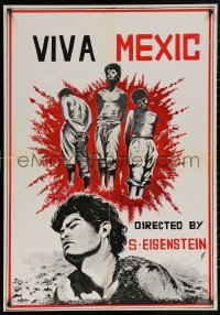 5h0020 QUE VIVA MEXICO Lebanese 1970s Sergei Eisenstein's classic unfinished film!