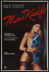 5h0002 BLUE VELVET Turkish 1988 directed by David Lynch, sexy Isabella Rossellini, Kyle MacLachlan!