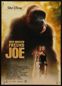 5j0035 MIGHTY JOE YOUNG German 12x19 1999 giant ape in Hollywood, survival is an instinct!