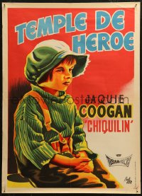 5j0007 RAG MAN Spanish R1964 cool Lloan art of Jackie Coogan as Chiquilin, aka The Kid!