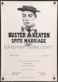5j0027 SPITE MARRIAGE Swiss R1974 great image of stone-faced Buster Keaton!