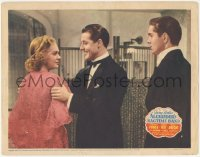 5k0884 ALEXANDER'S RAGTIME BAND LC R1944 Tyrone Power watches Alice Faye & Don Ameche, Irving Berlin