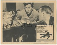 5k0889 ANATOMY OF A MURDER LC #8 1959 Arthur O'Connell & Eve Arden give information to James Stewart