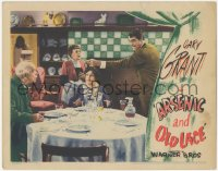 5k0895 ARSENIC & OLD LACE LC 1944 Cary Grant bursts in to warn about his aunts' elderberry wine!