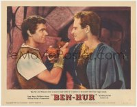5k0909 BEN-HUR LC #2 1960 Charlton Heston & Stephen Boyd homoerotically toast to each other!