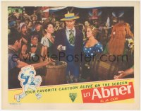 5k1206 LI'L ABNER LC R1947 Native American Buster Keaton shown with Jeff York, O'Driscoll, Ray!