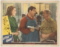 5k1213 LITTLE GIANT LC 1946 Elena Verdugo watches Lou Costello getting his diploma!