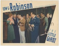 5k1212 LITTLE GIANT LC 1933 Mary Astor is shocked by the Tommygun in Edward G. Robinson's hands!