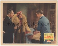 5k1220 LOVE UNDER FIRE LC 1937 Don Ameche & sexy Loretta Young wearing turban & furs!