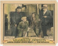 5k1241 MARKED MONEY LC 1928 aviatrix Virginia Bradford is captured & tied up in a barn!