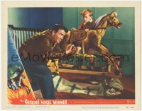 5k1372 ROCKING HORSE WINNER LC #7 1950 D.H. Lawrence story about boy who picks winning race horses!