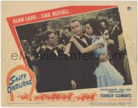 5k1389 SALTY O'ROURKE LC #8 1945 Stanley Clements interrupts Alan Ladd's dance with Gail Russell!