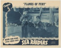 5k1400 SEA RAIDERS chapter 4 LC 1941 Dead End Kids & Little Tough Guys serial, Flames of Fury!