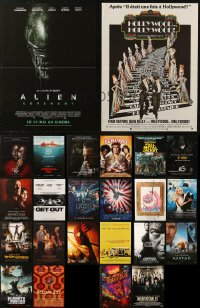 5m0082 LOT OF 26 FORMERLY FOLDED 16X21 FRENCH POSTERS 1970s-2010s a variety of cool movie images!