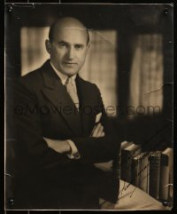 5y0034 SAMUEL GOLDWYN signed 13.5x16.5 still 1930 portrait with best wishes to Lucky Humberstone!