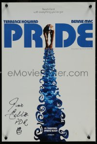 5y0018 PRIDE signed mini poster 2007 by the real Jim Ellis, the movie was based on him!
