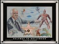 5y0015 RAY HARRYHAUSEN signed #34/650 18x24 art print 2003 also signed by the artist, Mark Hansen!
