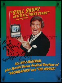 5y0022 SOUPY SALES signed 18x24 special poster 1981 for his album Still Soupy After All These Years!