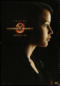 6f0018 HUNGER GAMES group of 8 27x39 commercial posters 2012 great images of Jennifer Lawrence, more!