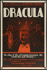 6f0002 DRACULA S2 poster 1999 Tod Browning, most classic vampire Bela Lugosi, best horror!