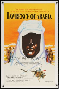 6f0006 LAWRENCE OF ARABIA S2 poster 2001 David Lean, great silhouette art of Peter O'Toole!