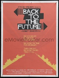 6f0030 BACK TO THE FUTURE signed 18x24 art print 2011 by artist David Will, flaming tire tracks!