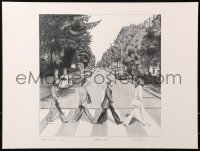 6f0011 BEATLES signed #5/1000 18x24 art print 1993 by Stewart A. Carr, Abbey Road, Memory Lane!