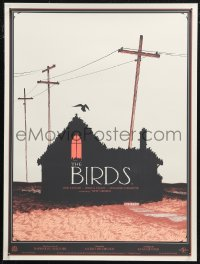 6f0013 BIRDS #192/225 18x24 art print 2016 great and creepy Adam Simpson artwork, first edition!