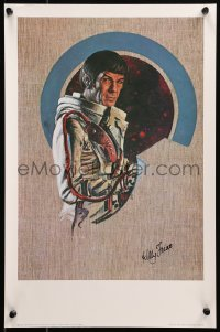 6f0032 KELLY FREAS signed 13x19 art print 1970s by the artist, great Star Trek art of Mr. Spock!