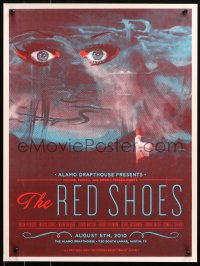6f0021 RED SHOES signed #83/100 2-sided 18x24 art print R2010 by the artist, Alamo Drafthouse!