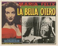 6h0010 LA BELLA OTERO Spanish/US LC 1954 completely different image of sexiest showgirl Maria Felix!