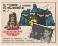 6h0005 HOUSE THAT DRIPPED BLOOD Mexican LC 1971 Christopher Lee, Vampires! Voodoo! Vixens!