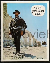6h0014 FOR A FEW DOLLARS MORE 12 German LCs 1966 Leone's Per qualche dollaro in piu, Clint Eastwood!