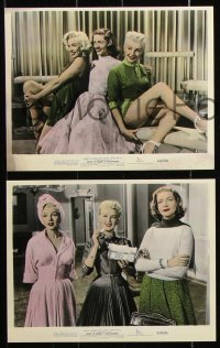 6p0118 HOW TO MARRY A MILLIONAIRE 8 REPRO color 8x10 stills 2000s Marilyn Monroe, Bacall & Grable!