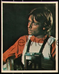 6p0120 STAR WARS group of 8 8x10 color REPRO photos 1980s Hamill, Fisher, Guinness, Ford, Lucas