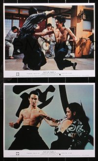 6p0117 CHINESE CONNECTION 16 REPRO color English FOH LCs 2000s Jing Wu Men, kung fu master Bruce Lee!