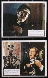 6p0103 CURSE OF FRANKENSTEIN 8 REPRO color English FOH LCs 2000s Peter Cushing, Christopher Lee!