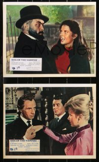 6p0106 KISS OF THE VAMPIRE 8 REPRO color English FOH LCs 2000s Hammer, Clifford Evans, Noel Willman