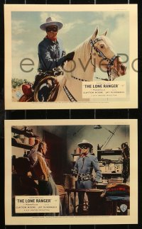 6p0107 LONE RANGER 8 REPRO color English FOH LCs 2000s masked hero Clayton Moore & Jay Silverheels!