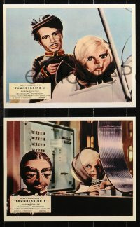 6p0114 THUNDERBIRD 6 8 REPRO color English FOH LCs 2000s English sci-fi puppet movie, great scenes!