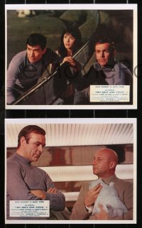6p0115 YOU ONLY LIVE TWICE 8 REPRO color English FOH LCs 2000s Connery as James Bond, great scenes!
