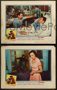 6r1054 MEN 4 LCs 1950 very first Marlon Brando, Jack Webb, directed by Fred Zinnemann!