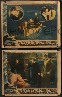 6r1057 MYSTERY OF EDWIN DROOD 4 LCs 1934 opium addict Claude Rains, Heather Angel, Charles Dickens!