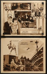 6r1058 NO WEDDING BELLS 4 LCs 1923 Oliver Hardy throws Semon out of window after losing chess match!