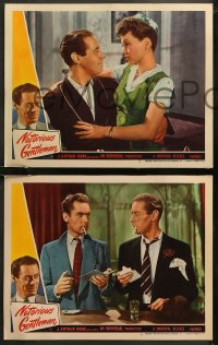 6r1060 NOTORIOUS GENTLEMAN 4 LCs 1946 great images of Rex Harrison & gorgeous Lilli Palmer!