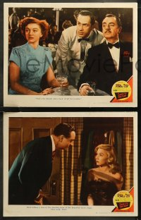 6r1070 SONG OF THE THIN MAN 4 LCs 1947 William Powell & Myrna Loy with Gloria Grahame, Morgan!