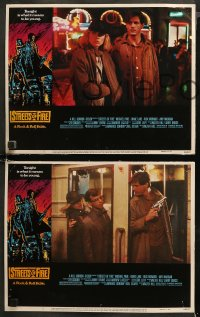 6r1072 STREETS OF FIRE 4 LCs 1984 Michael Pare, Diane Lane, rock 'n' roll, directed by Walter Hill!