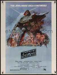6s0020 EMPIRE STRIKES BACK style B 30x40 1980 George Lucas sci-fi classic, cool artwork by Tom Jung!